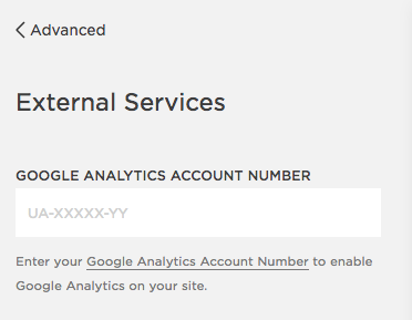 Remove Analytics from Squarespace