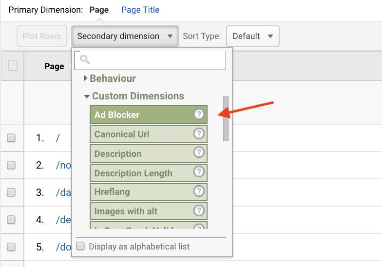 choose adblocker custom_dimension